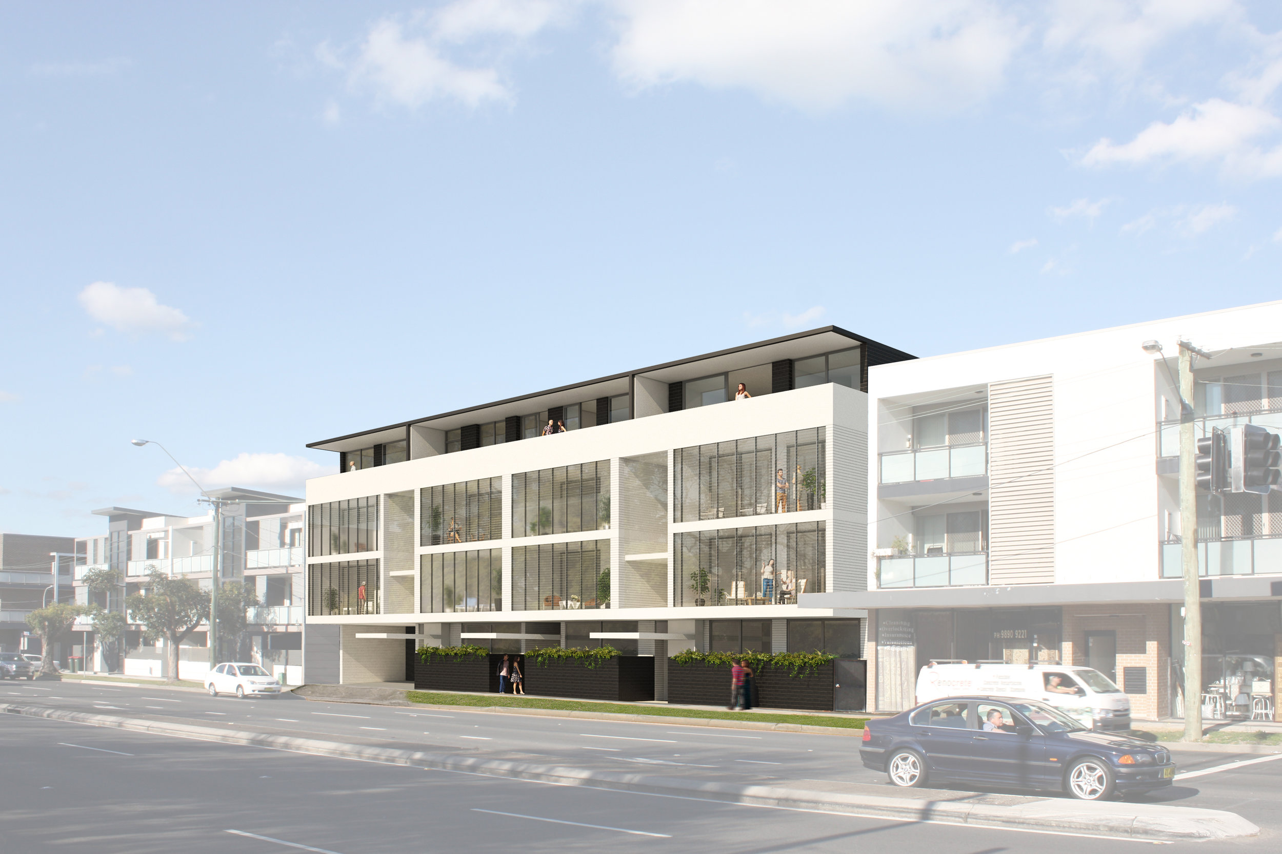 """""""The development application process was a breeze, thanks to a well-considered design outcome and a high-quality set of design documentation which were also applauded by Parramatta City Council's Design Excellence Advisory Panel"""" - – Terence Yong, Design Architect"""