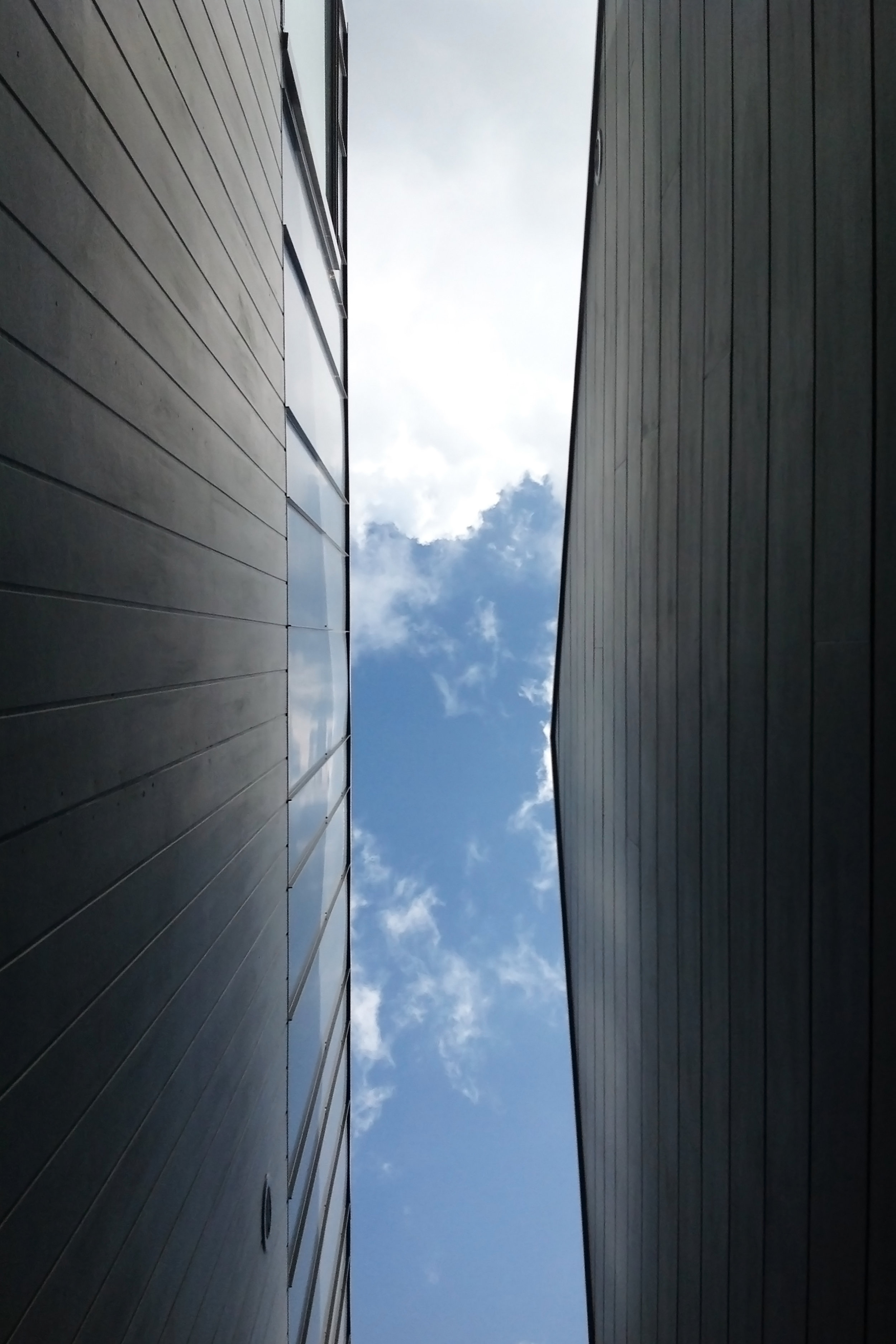 Website | File | Terence Yong Architecture | 3 Townhouses in Balmain : Siblings | Open corridor | An elongated framing of the sky.jpg
