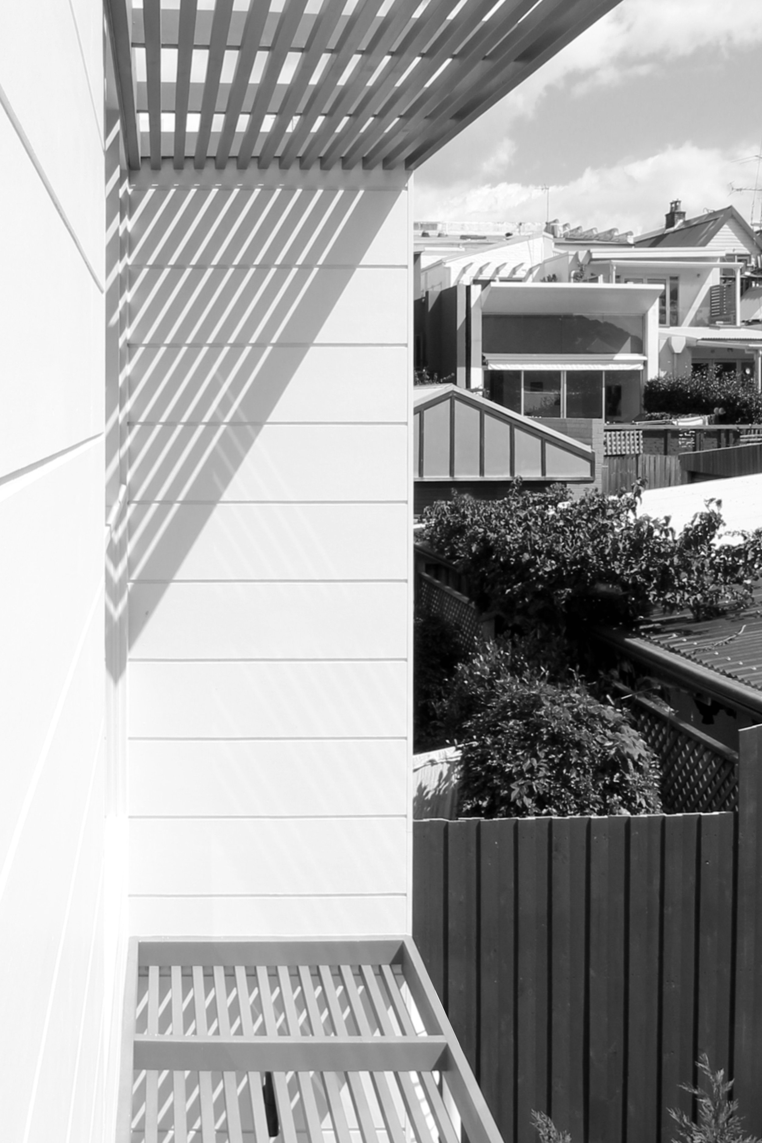 Website | File | Terence Yong Architecture | 3 Townhouses in Balmain : Siblings | House C | Simple and fine afternoon shadows of the timber sunshades.jpg