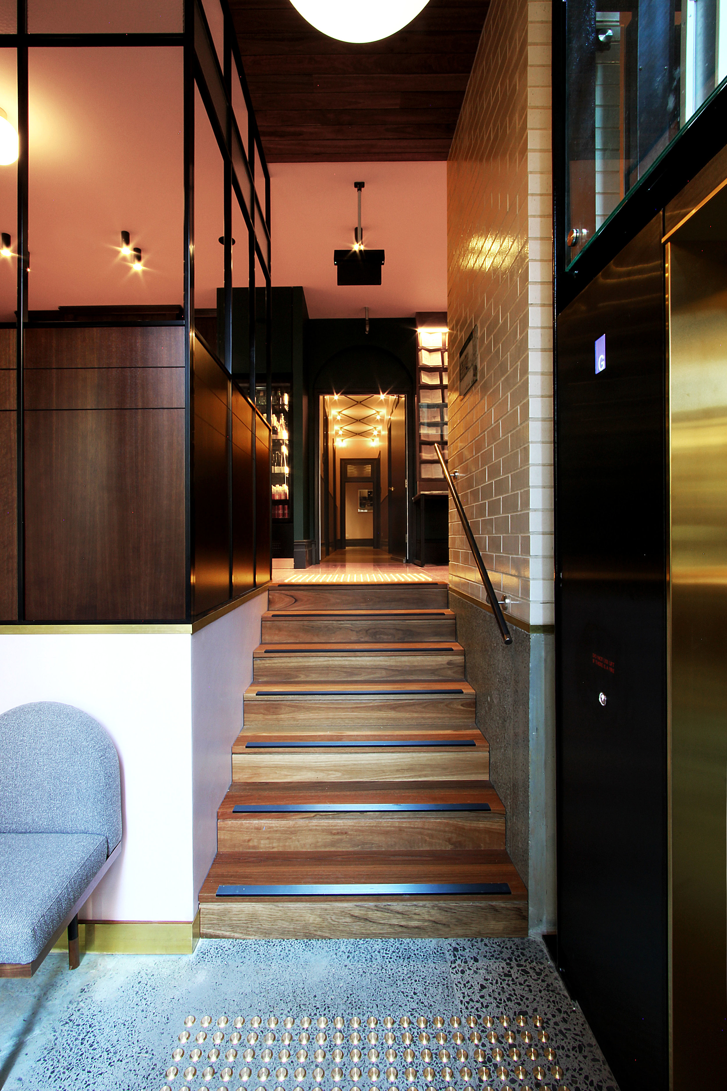 TYA Photography | Little Albion Guest House | Lower Ground Floor Lift Foyer | Winter | Arvo 01 | A7602.jpg