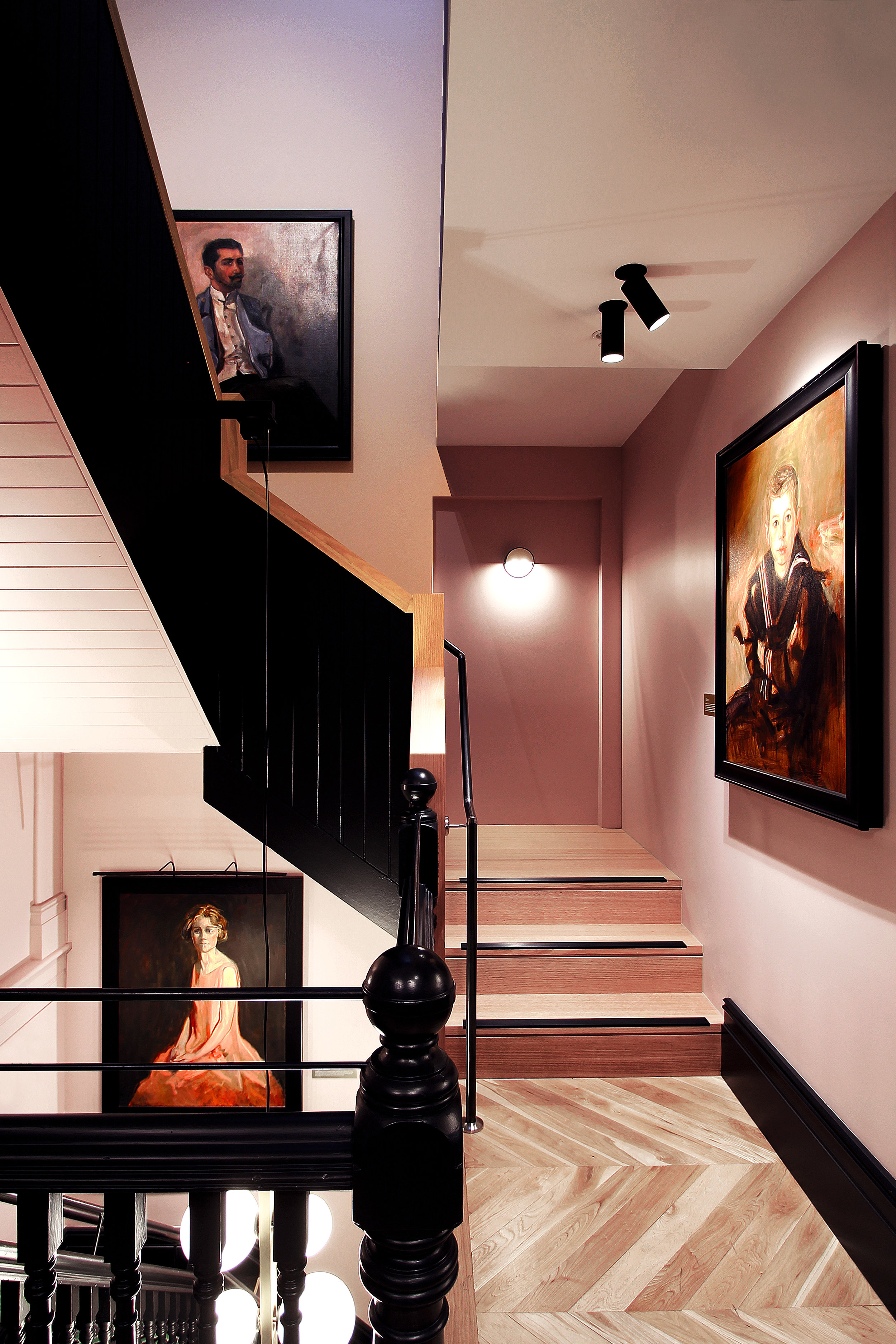 TYA Photography | Little Albion Guest House | Existing staircase | Winter | Morning | B0571.jpg