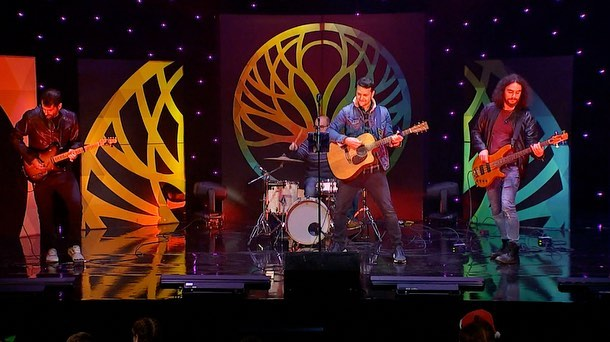 The GBC Open Day house band for last night's live show. 🎥 🎤 🎶 🎸 #singer #musician #singerguitarist #band #gbcopenday #gbcopenday2018 #gibraltar #charity #gibraltar #visitgibraltar #eventprofs #martinguitars #livemusic #livebroadcast #christmas