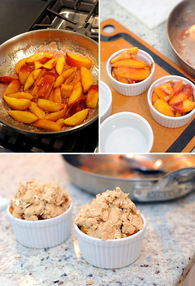 Peach Crisp Prep
