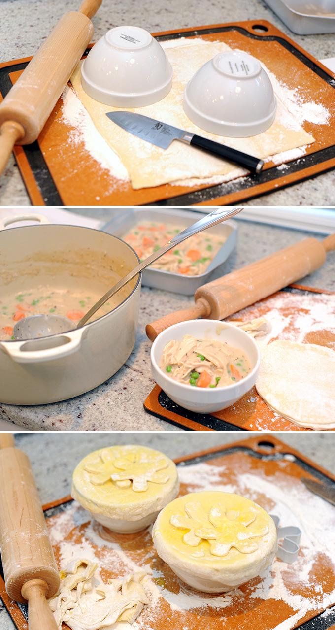 Chicken Potpie Prep