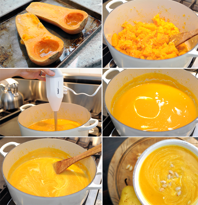 Squash Soup Prep