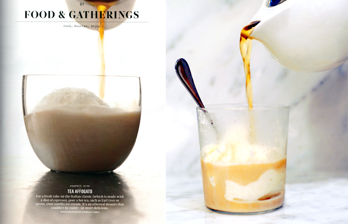 Tea and Ice Cream