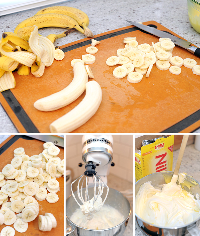 Banana Pudding Prep
