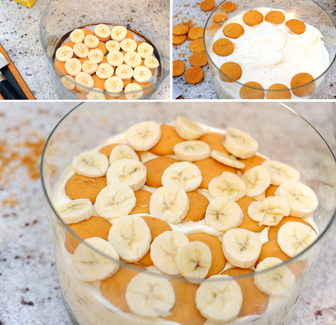 Banana Pudding Assembly