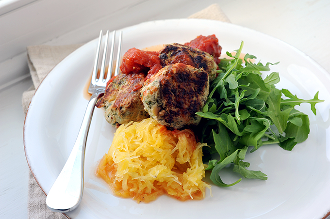 Gwyneth Paltrow's Healthy Turkey Meatballs with Spaghetti Squash