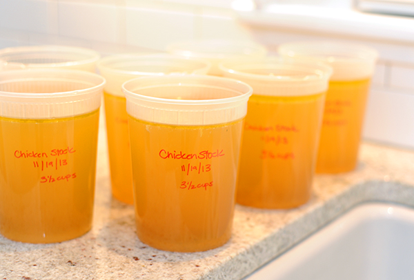 Packed Chicken Stock