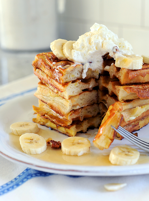 Banana Waffle French Toast