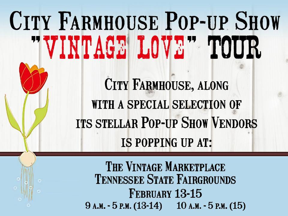 City Farm House Pop-Up Show