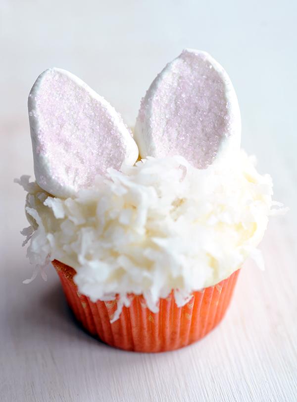 Bunny Coconut Cupcakes-5835