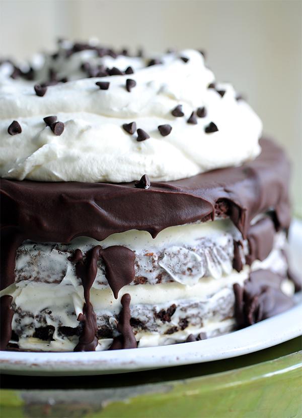 Brownie Icecream Cake-6874