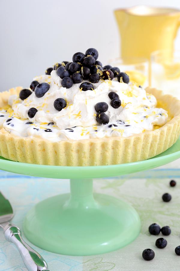 Lemon Blueberry Tart-6762
