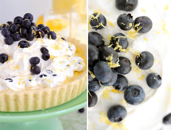LemonBlueberryTart