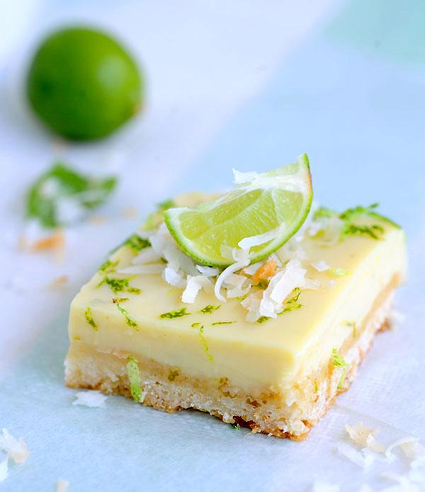 Key Lime Coconut Bars-7287