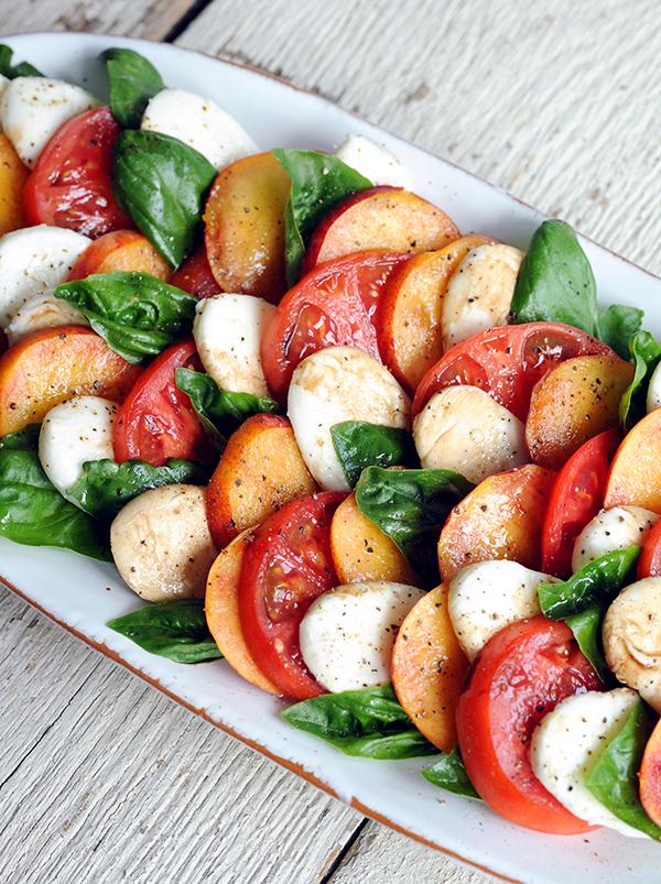Peach Caprese Salad-7234