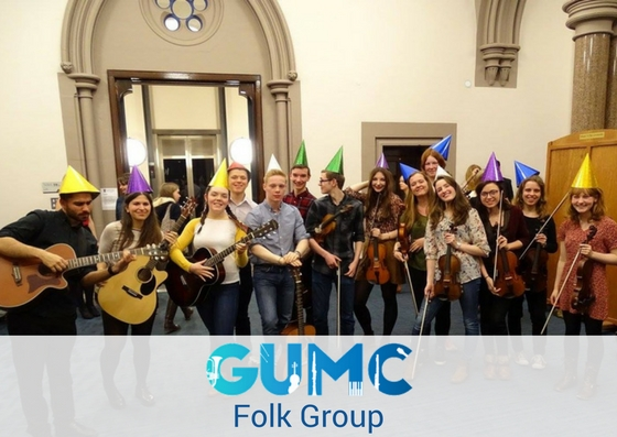 Folk Group - Monday 6pm-7.30pm Music Department, 14 University Gardens.