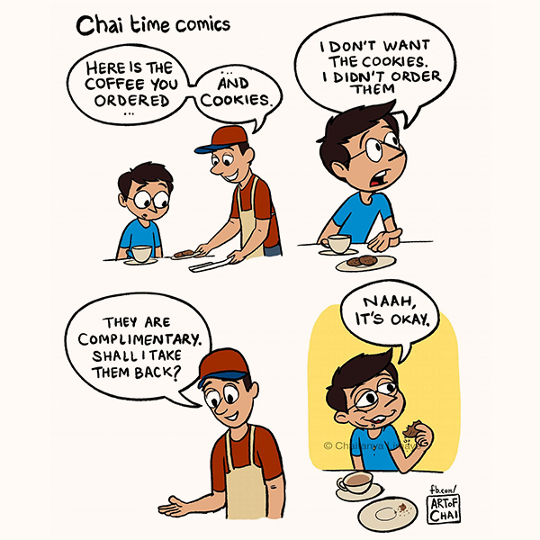 Chai Time comics