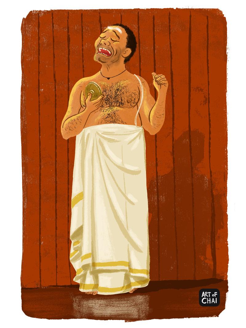 Kathakali Singer
