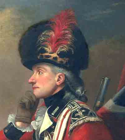 """Clubbed Hair - """"A soldier called Major John Andre,"""" - Huntington Library in San Mateo, CA. Historians have determined that this painting is not that of Major John Andre."""