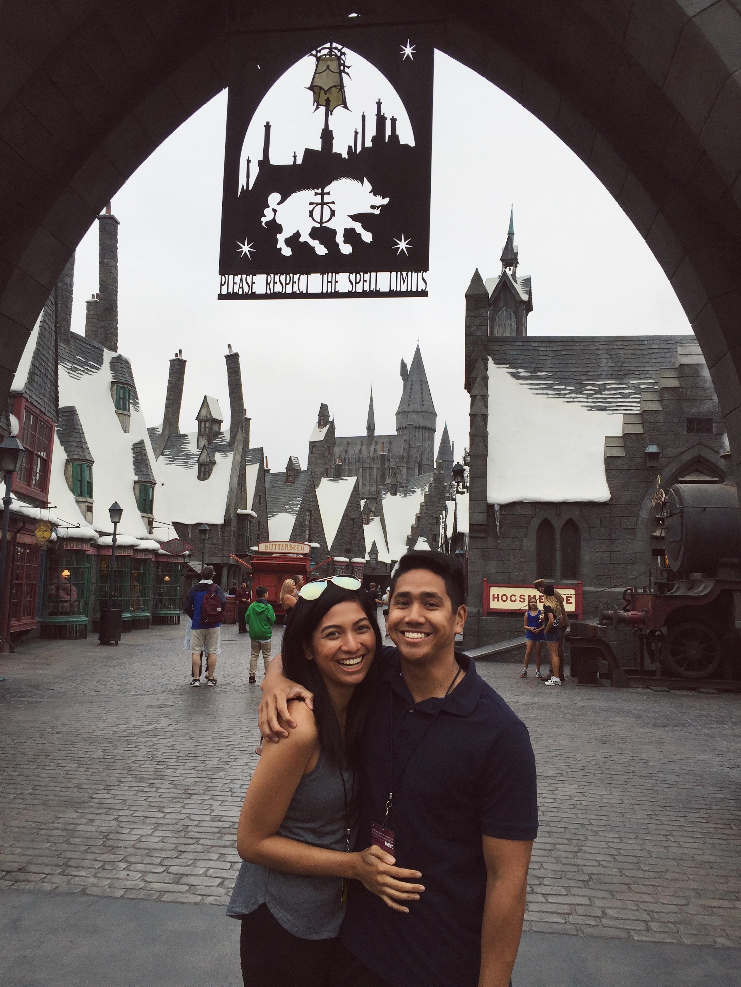 roxci vergs harry potter world of wizardry universal studios los angeles