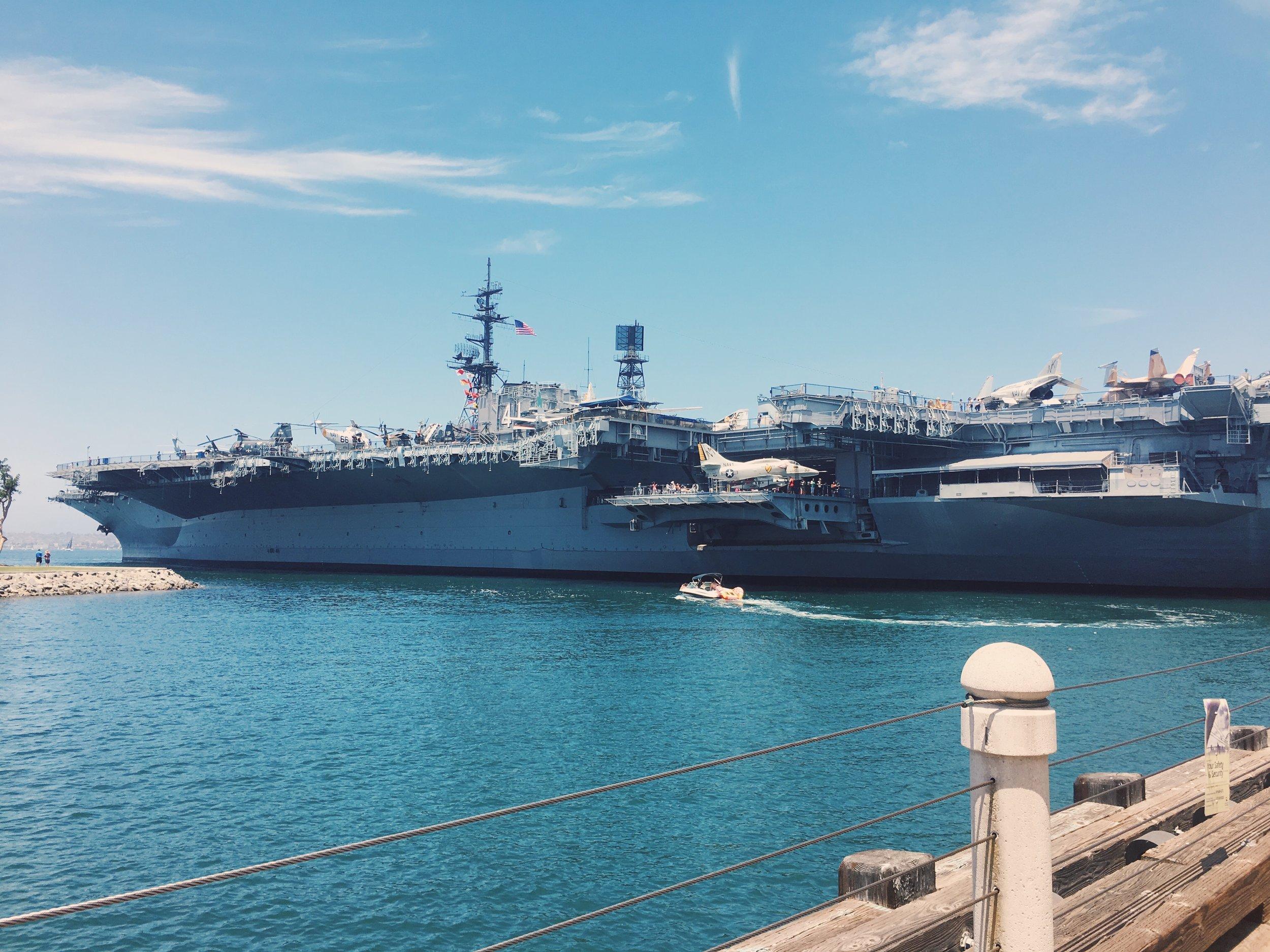 USS midway san diego california.JPG