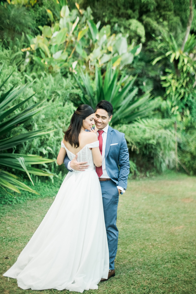 happilyevergara wedding roxci ivory and white dress