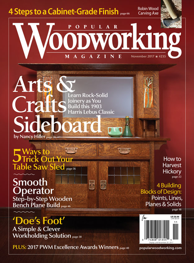 Popular Woodworking Magazine, Nov. 2017