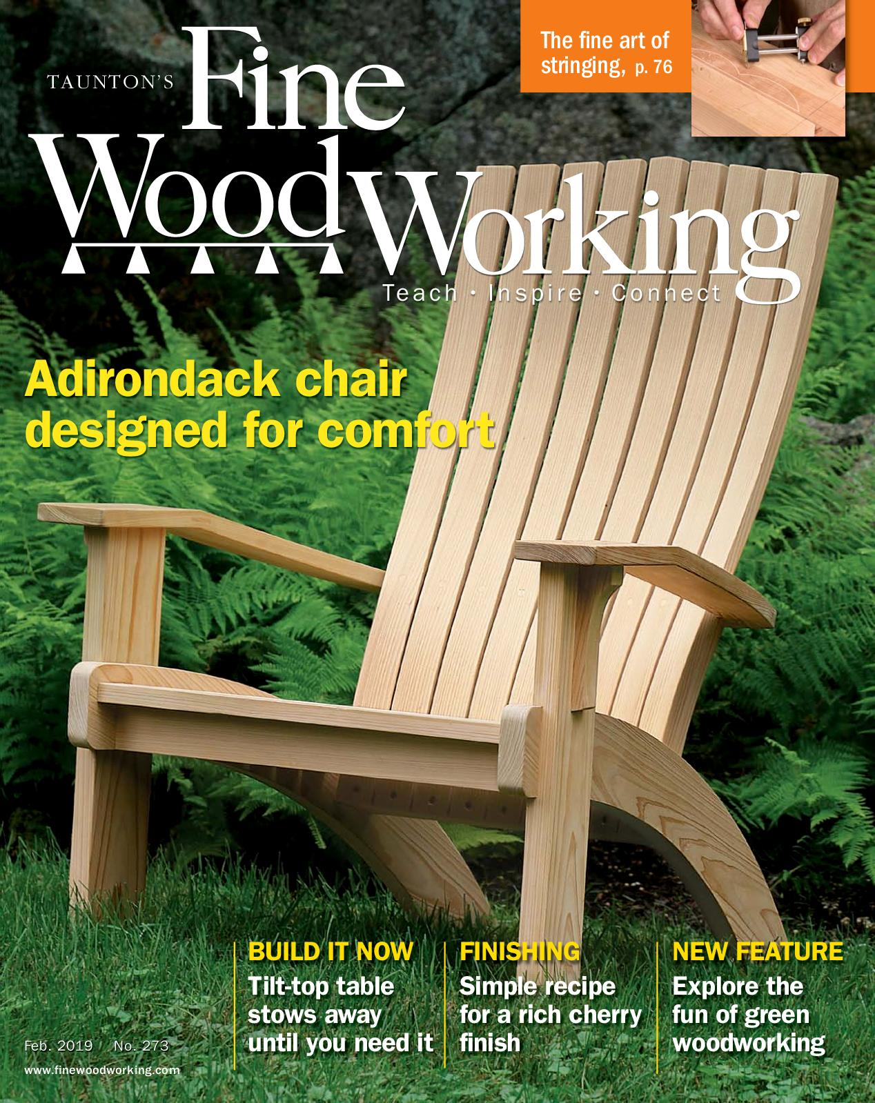 Fine Woodworking Magazine, Issue No. 273, Feb/March 2019