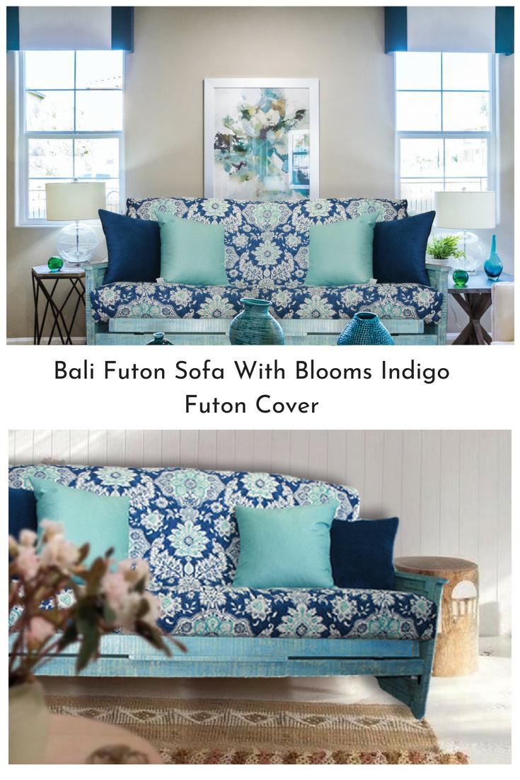 Bali Futon Sofa With Blooming Indigo Futon Sofa (1).png
