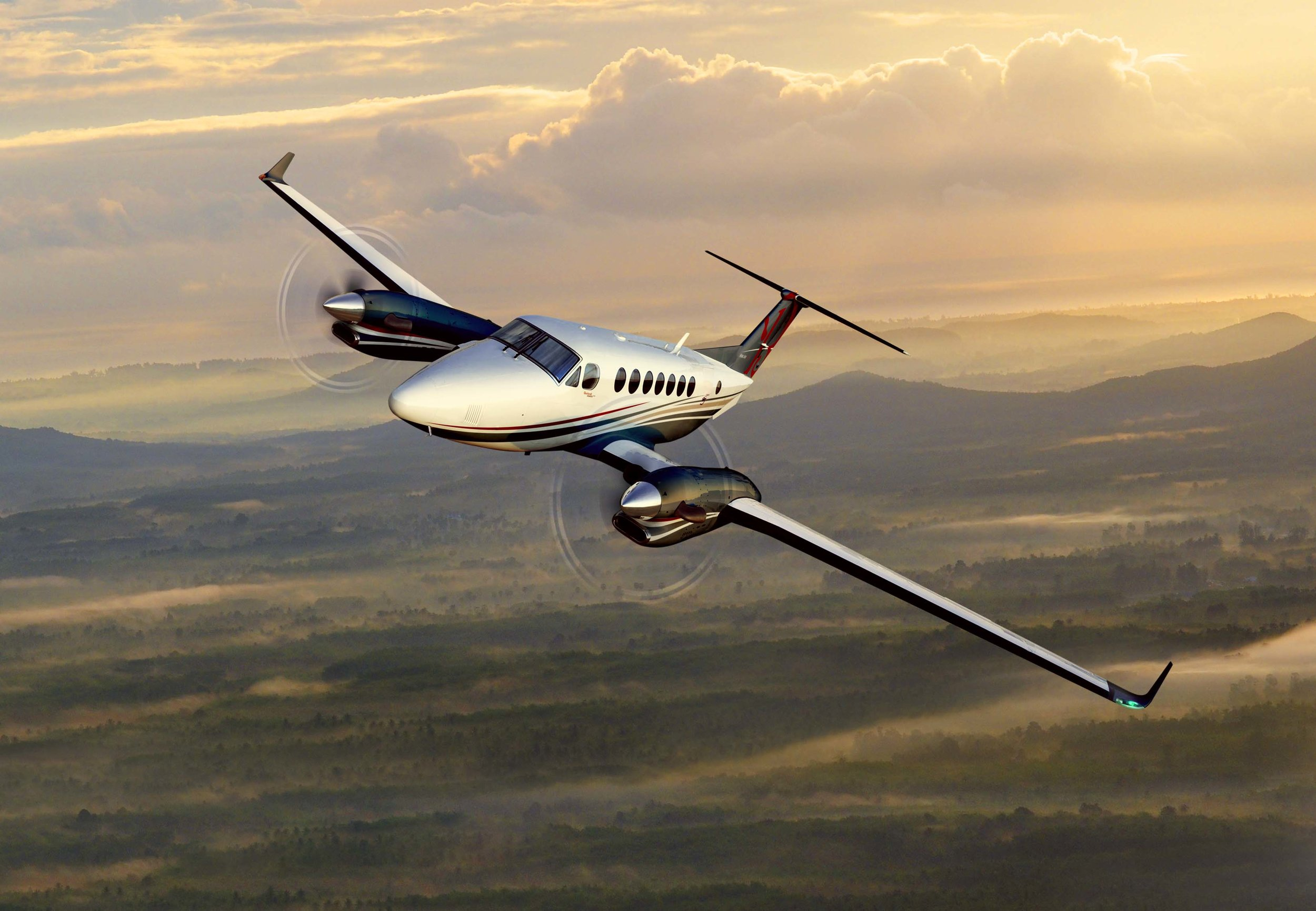 Trym's dream: flying a Beechcraft King Air 350i