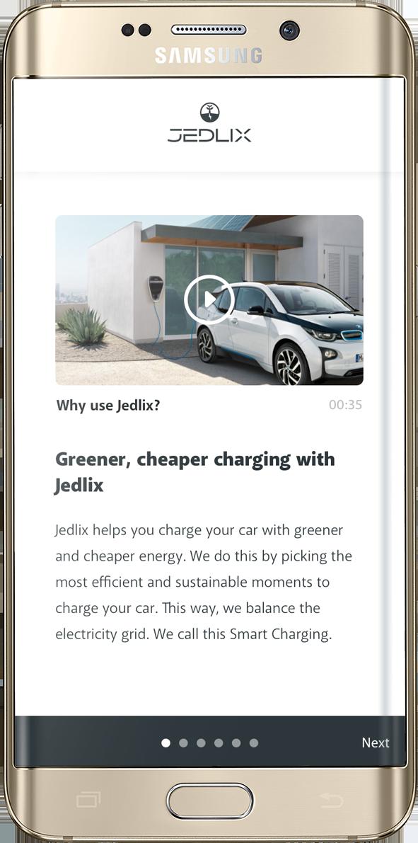 Jedlix  charging app