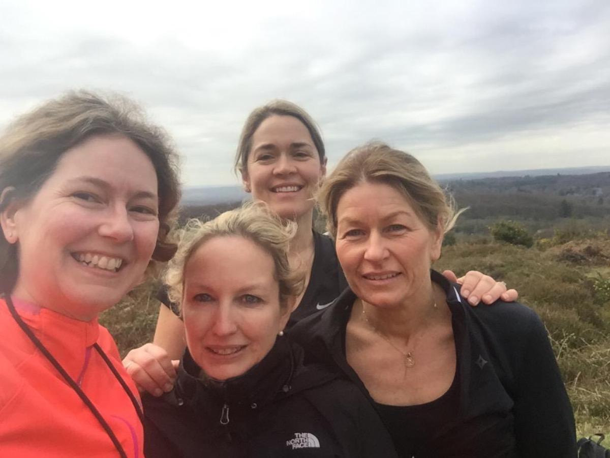 Graceful Ladies Ultra Marathon Challenge in Isle of Wight