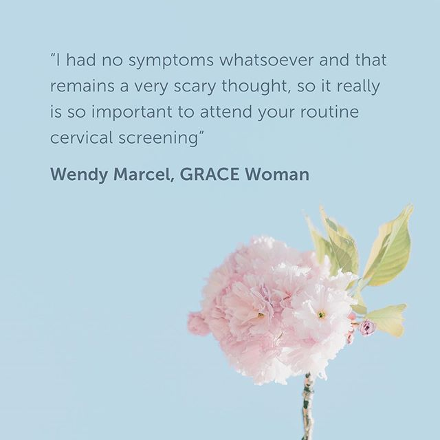 Our GRACE woman Wendy Marcel was two weeks pregnant when her routine cervical screening revealed abnormal cells. On our blog she's shared her experience of being diagnosed with cervical cancer just six weeks after giving birth to her baby son. Link in bio #GRACEwoman #cervicalcancer