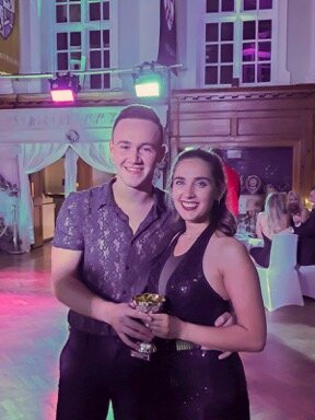 Winning dancers at GRACE Does Strictly