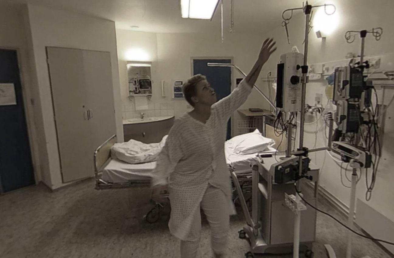 Skreddersydd scenario for sykehus i VR