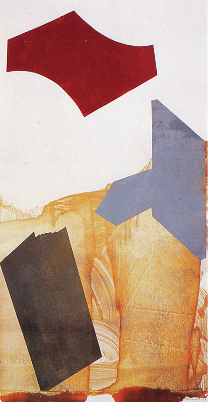 'Blank Thought, Blood Remembering' VI, 1989