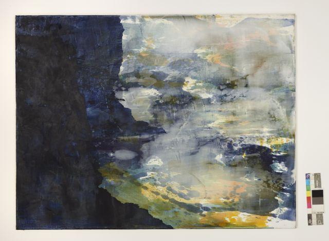 Buttress 2, 2012 oil and wax on linen 84x100cm.jpg