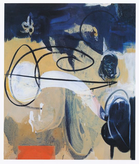 106) The Plate 1990 oil:acrylic on linen 180x150cm.jpg