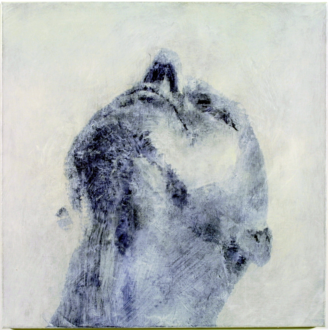 67)+Head+Self+Portrait+4,+2001+oil-wax+on+linen+76x76+cm++.jpg