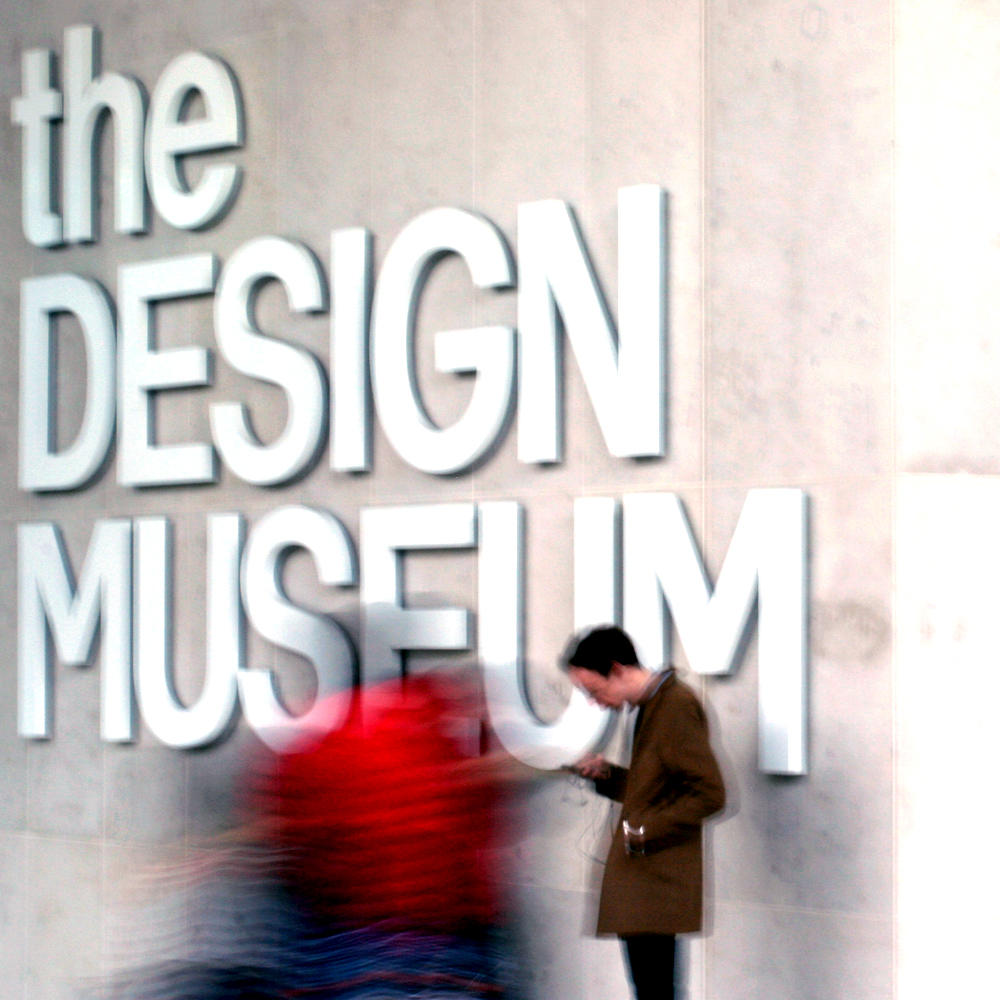 Stood up at the Design Museum
