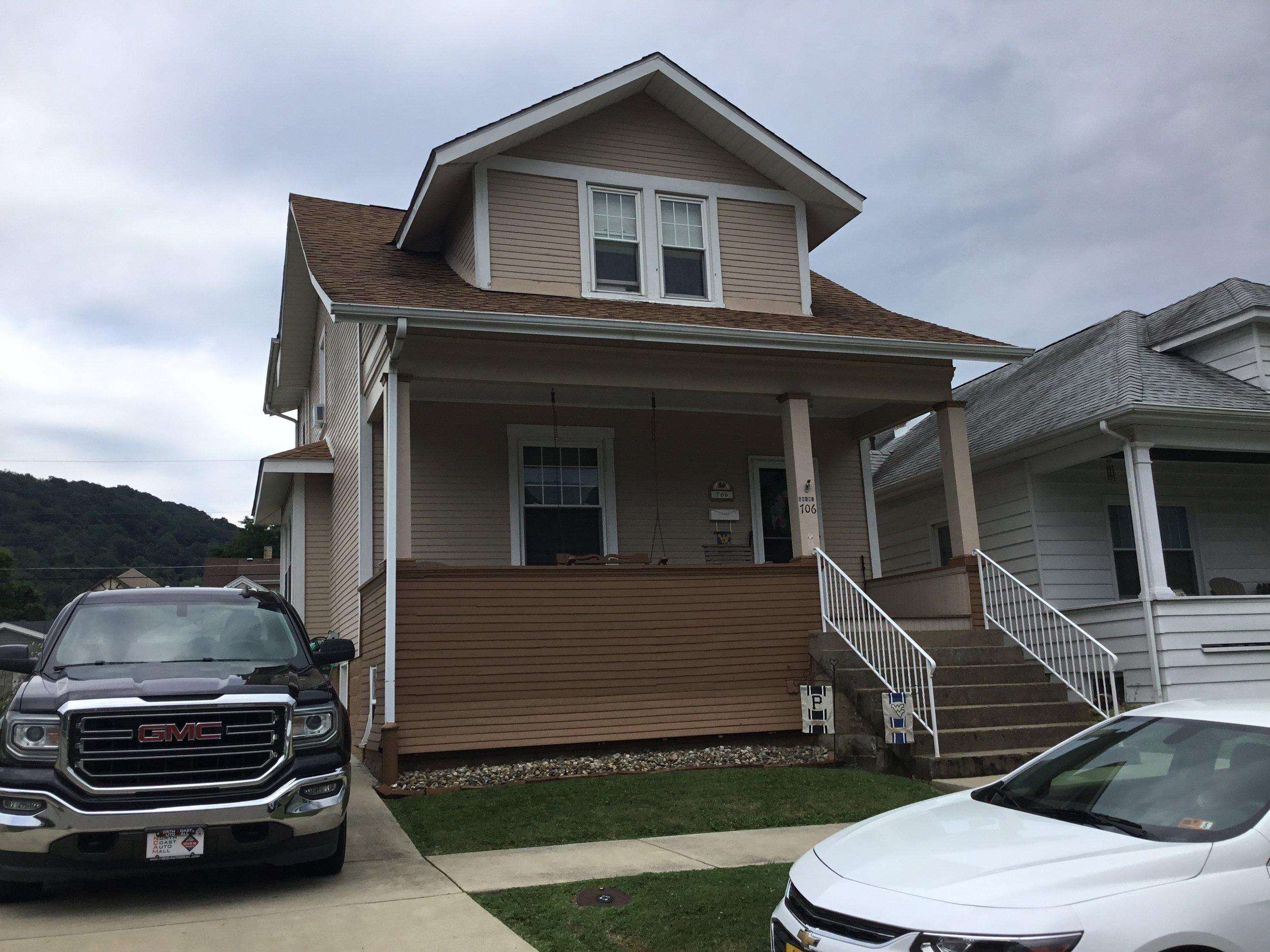 Home Siding near Cleveland, Ohio.