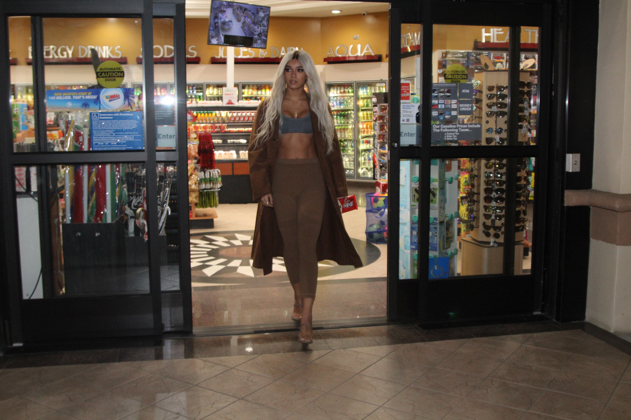 Yovanna Ventura models for YEEZY Season Six