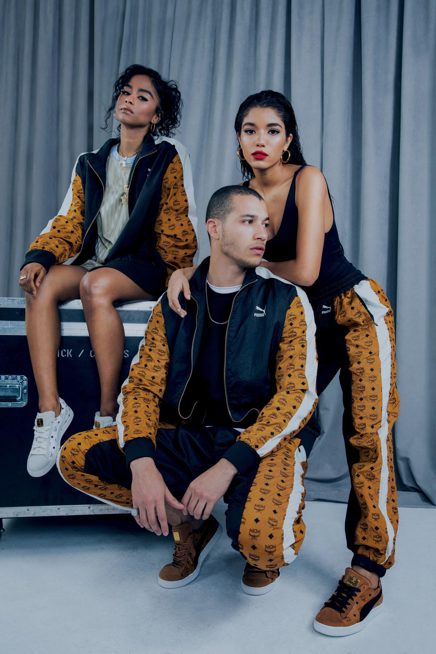 Yovanna Ventura, Vashtie and Gabriel Vieria by Raven B. Varona for MCM x Puma Collection