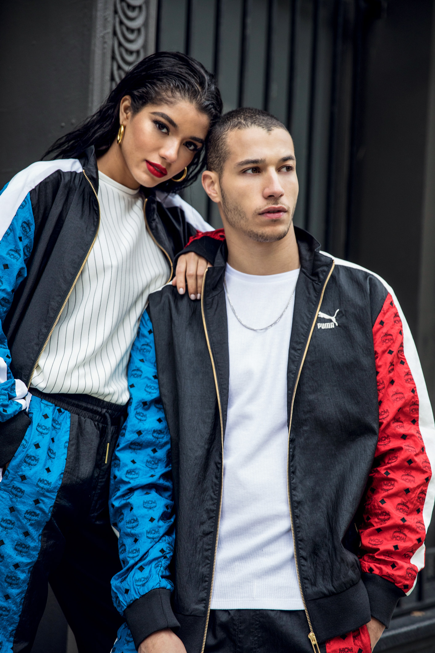Yovanna Ventura and Gabriel Vieria by Raven B. Varona for MCM x Puma Collection