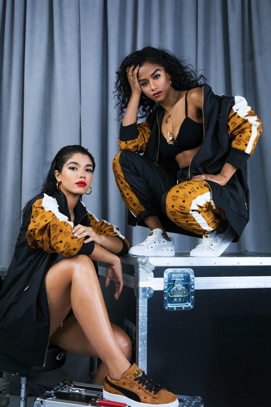 Yovanna Ventura and Vashtie by Raven B. Varona for MCM x Puma Collection