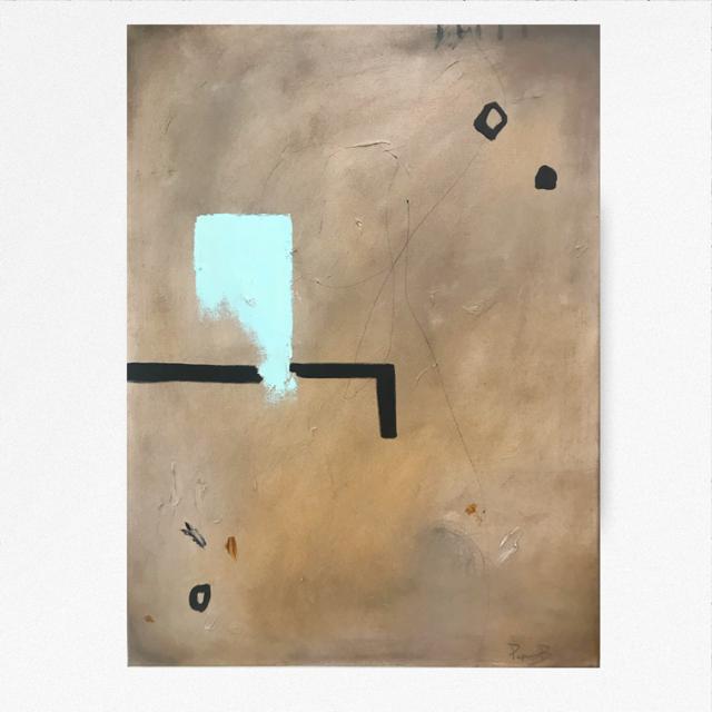 Ice blues  24x30 - Oil on Canvas