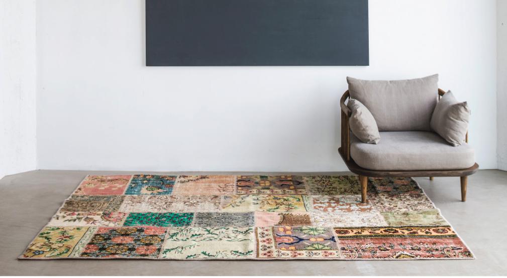Vintage teppe fra Massimo fra 5075,-